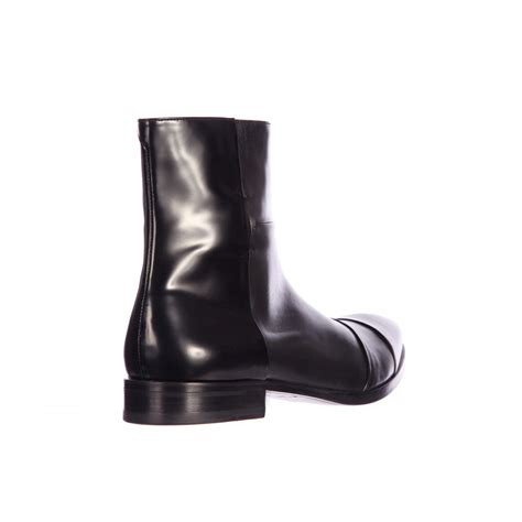handcrafted s fashion black side zipper boot ankle