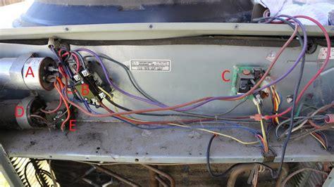 trane xe1200 fan capacitor trane xe 1200 heat condenser fan motor replacement