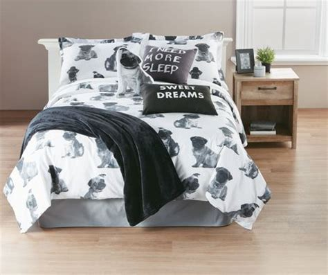 pug duvet set hometrends pug duvet cover set walmart ca