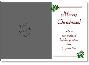 cards to print add your own photo printable card templates make your own