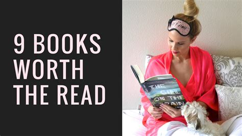 8 Books Worth Reading by 9 Books Worth The Read