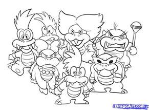 bowser coloring pages bowser coloring page coloring home