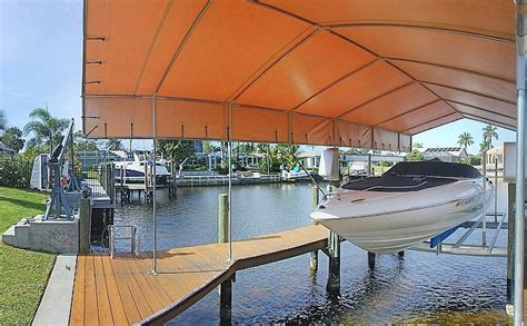 boat lift canopy cape coral virtual tour