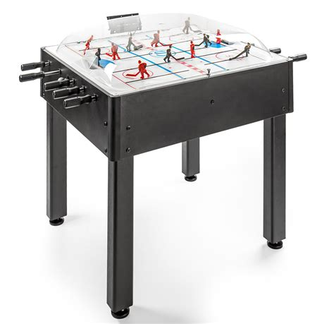 breakout dome black hockey table gametablesonline
