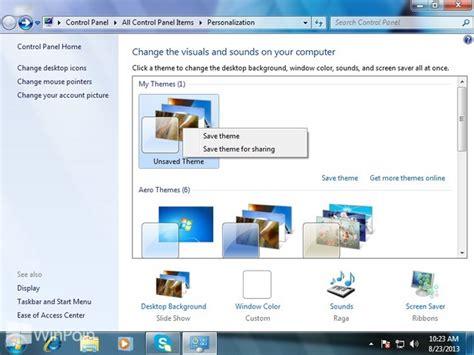 membuat tema facebook mainichi gurupu cara mudah membuat tema windows 7 sendiri
