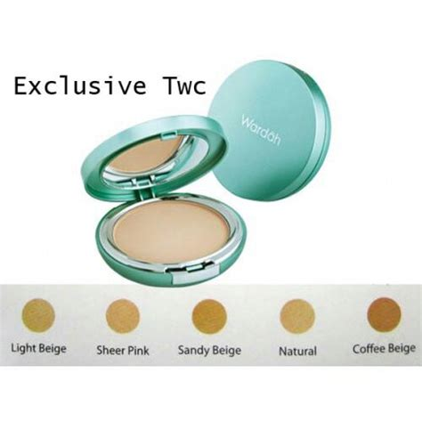 Bedak Tabur Wardah Exclusive Series Jual Wardah Bedak Exclusive Two Way Cake Waroeng