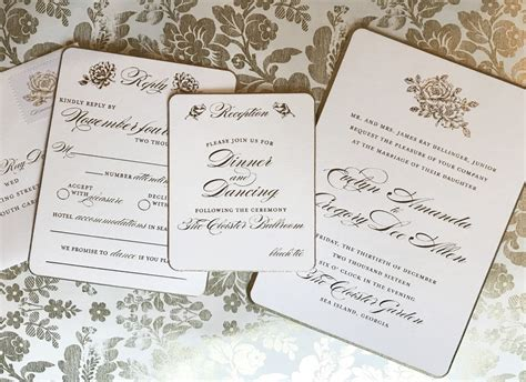 wedding invitations set out contemporary when do you send out wedding invitations