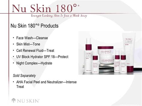 Promo 180 System Cell Renewal Fluid 180 anti aging skin therapy system
