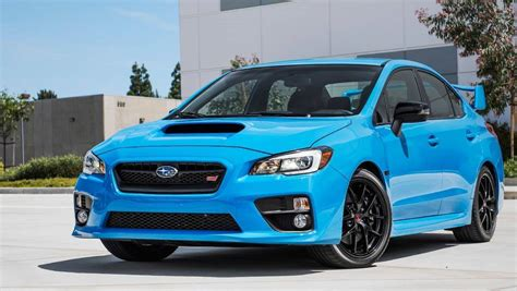 2015 Subaru Wrx Blue For Australia S Favourite