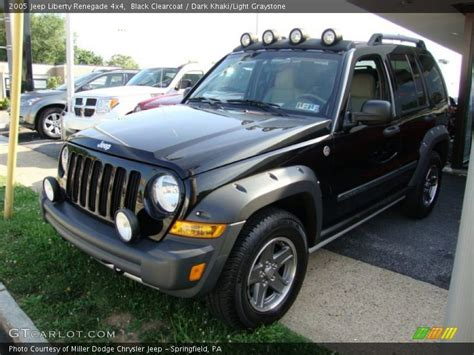 black jeep liberty 2005 2005 jeep liberty renegade 4x4 in black clearcoat photo no