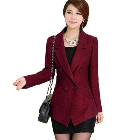 design jacket formal jacket coat blazer women suits elegant top red formal