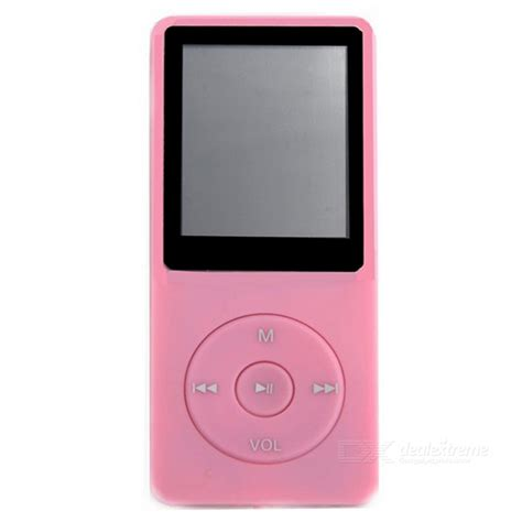 Pod Mp4 Player 1 8 Inch Lcd Fm Radio 1 8 quot lcd digital mp4 mp3 player w fm radio pink 8gb free shipping dealextreme