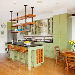 kitchens with shelves green shelves green cabinets and islands on pinterest
