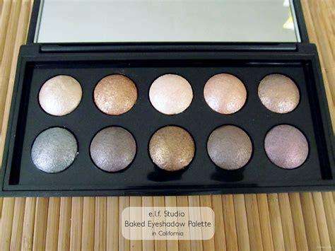 Promo Baked Eyeshadow Palette target e l f fall 2013 promotion baked eyeshadow palette in california review makeupfu