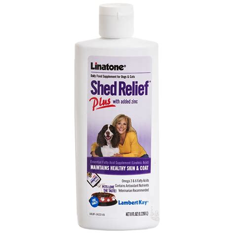 Anti Shedding Treatment For Dogs by Linatone Shed Relief