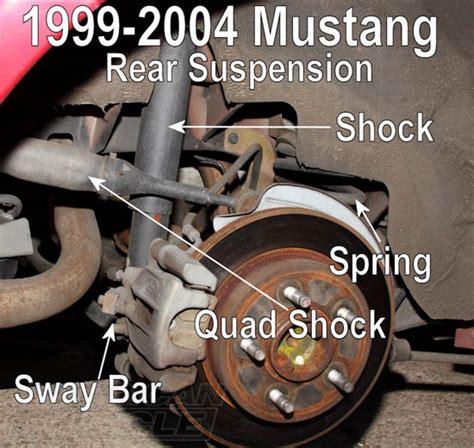 mustang rear suspension suspension 101 part 1 mustang suspension components