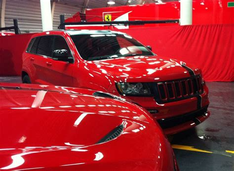 ferrari jeep xj vwvortex com jeep gc srt 8 ferrari edition