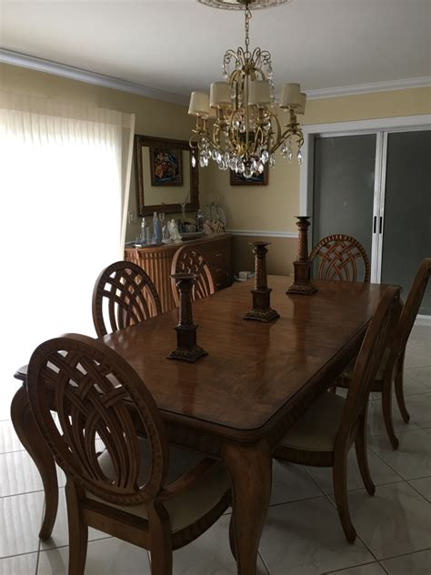 havertys dining room furniture letgo havertys dining room set in port saint lucie fl