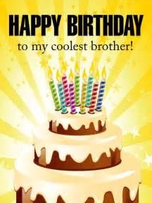 Brother happy birthday card birthday amp greeting cards by davia