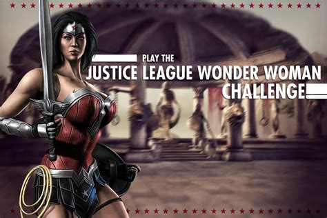 imagenes de wonder woman injustice justice league wonder woman challenge for injustice mobile