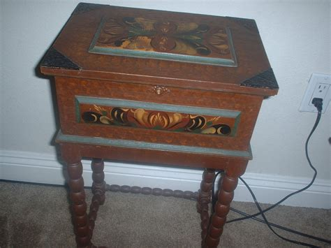 Vintage Sewing Table by Antique Sewing Table Collectors Weekly
