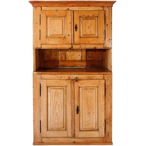 Pine Hutch Late 19th Century Pine Hutch Cabinet