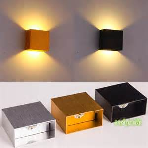 Living Room Wall Light Fixtures Aliexpress Buy New Modern 6w Led Square Wall L