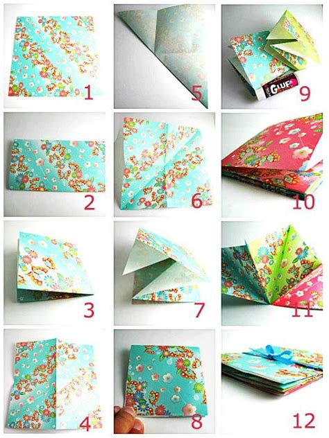 diy craft tutorial tutorial folded paper book origami fly away free kid craft