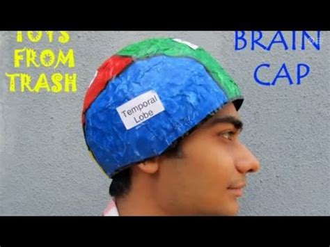 How To Make A Paper Mache Brain - brain cap 19mb avi