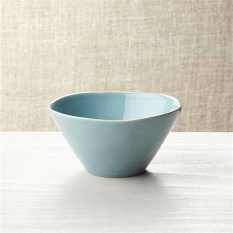 marin blue bowl reviews crate barrel