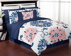 Guest Bedroom Sets - best 25 navy and coral bedding ideas on pinterest navy