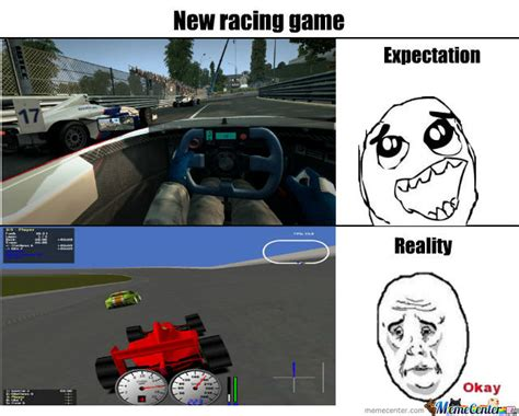 racing game by llachim meme center