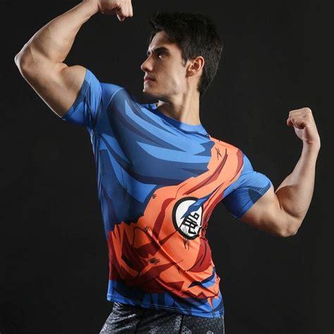 Goku Armour Sleeve Skinz z shirts novelty