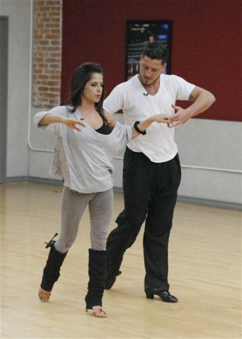 dancing   stars rehearsal  released  val chmerkovskiy  kelly monaco pure