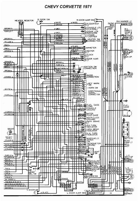 1974 corvette stingray wiring diagram efcaviation