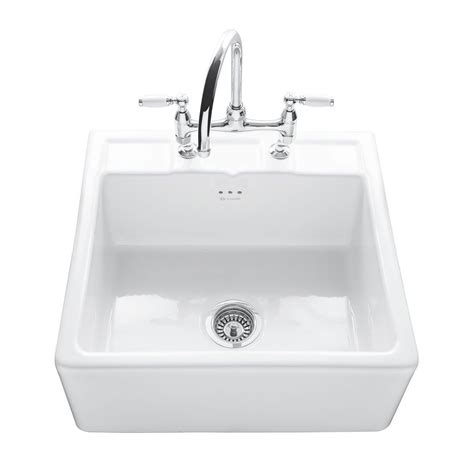 sit on kitchen sink caple butler 600 kitchen sink with tap ledge sinks taps com