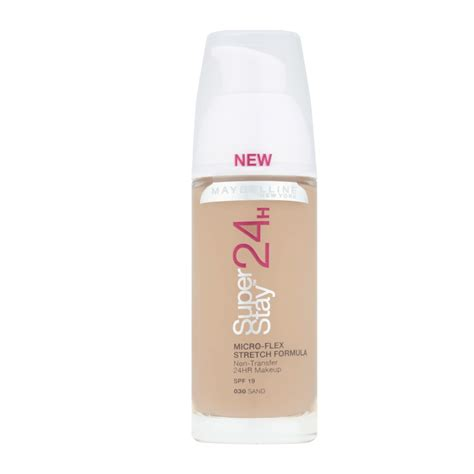 Maybelline Foundation Stay maybelline new york superstay 24h foundation spf 19 30ml