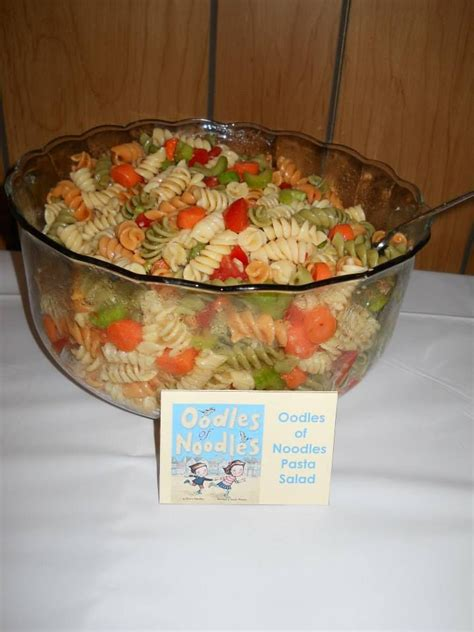 Baby Shower Pasta Salad by Storybook Theme Baby Shower Oodles Of Noodles Pasta