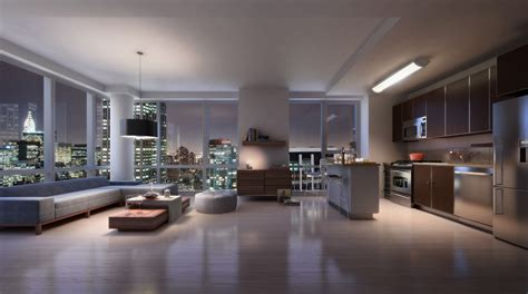 no frills here inside three chic manhattan apartments on the continental luxury rental tower in manhattan