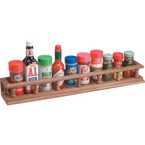 large spice racks whitecap teak large spice rack 62438
