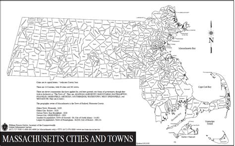 massachusetts city map maps and massachusetts on