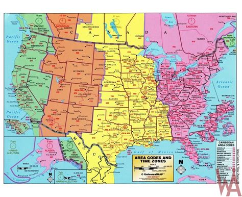 time zone map usa with cities vector time zone map of usa with capital and cities