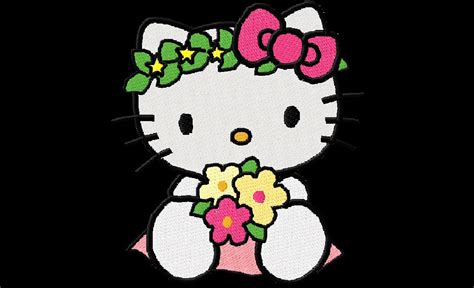 gambar wallpaper kartun  kitty gambar  kity
