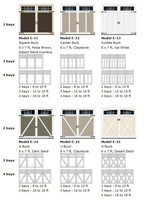 Residential Garage Door Sizes Neiltortorella Com Standard Residential Garage Door Sizes