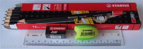 Stabilo Pensil Mekanik 2b Grade 12 stabilo micro 288 grade 2b pencils with free