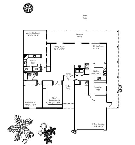 Sun Lakes Floor Plans | alameda floor plan in sun lakes az sun lakes homes and