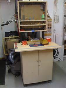 router schrank incra router table cabinet plans bookcase