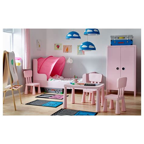ikea products busunge extendable bed light pink 80x200 cm ikea