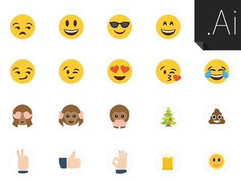 emoji vector free 21 custom vector emojis titanui