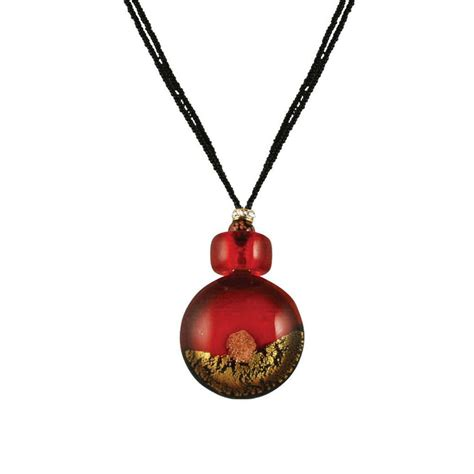 vista venetian murano glass pendant necklace